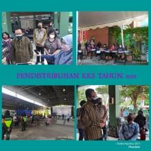 Pembagian Kartu Keluarga Sejahtera (KKS) Bagi Warga Kota Yogyakarta Tahun 2021